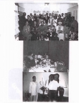 Middle Photo: Janice Thompson, daughter of Ethel Lee Webb, with her husband, Glenn, and daughter, Mykia; Bottom photo: W