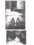 Top Photo: Ethel Lee (Brown) Thompson with her husband, Clarence Thompson; Bottom photo: William 'Buster' Brown, Jr. a