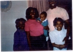 Walter Brown, Sr's daughter, Shelia (Brown) Harris, husband Herman Harris, and children (oldest to youngest) Autumn, Me