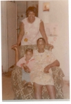 Rose, Mama Brown, and Sandi - June 1973