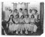 Salena Mason with her Business and Professional Girls Club, June 12,1932