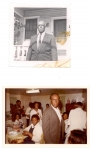 Samuel Ewing, Sr., Mama Brown's brother. The bottom photo is dated January 1978.