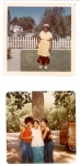 Top: Rosalee (Easter 1972); Bottom, left to right: Rosalee's granddaughter, Theresa, Rosalee, and Theresa's little sis